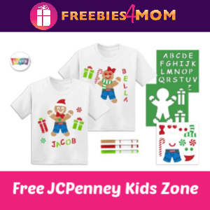 JCPenney Kid Zone Free Shirt 12/14