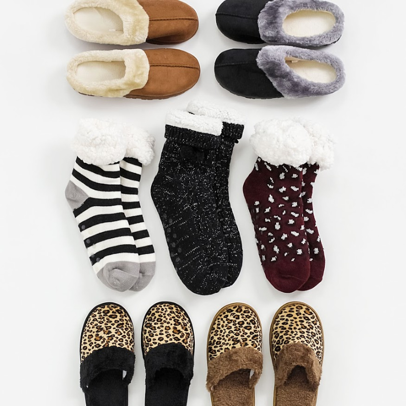 BOGO Free Holiday Socks or Slippers