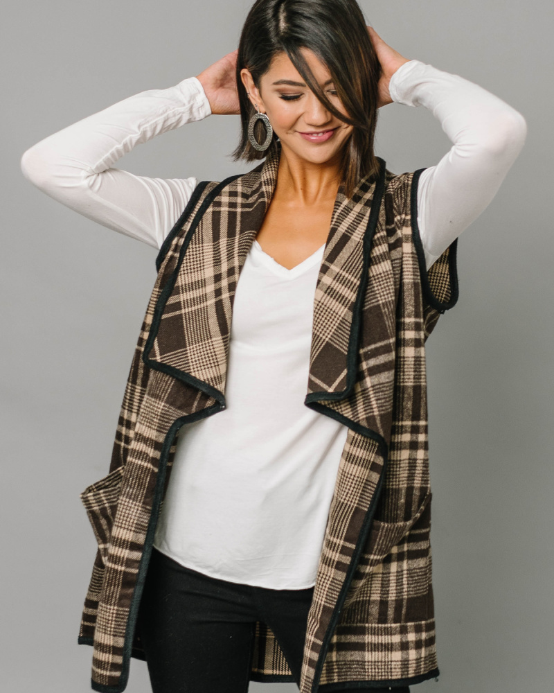 Plaid Vest $19.95 ($35 Value)