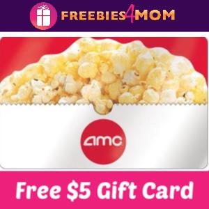 Free $5 AMC Gift Card (Verizon Customers)