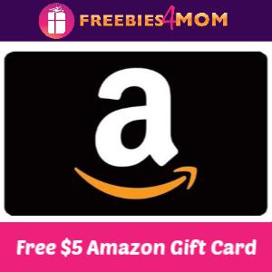 Free $5 Amazon Gift Card (Verizon Customers)