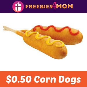 $0.50 Corn Dogs at Sonic Dec. 4