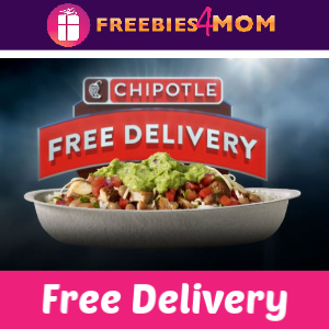 Free Chipotle Delivery (thru 1/6)