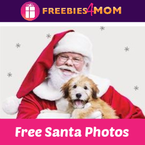 Free Santa Photos at PetSmart