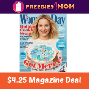 Magazine Deal: Woman's Day $4.25