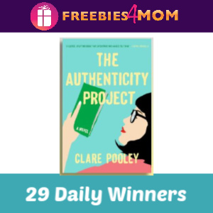 Sweeps Win a Free Copy of Authenticity Project