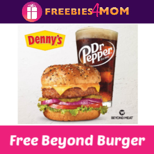 Free Beyond Burget at Denny's TODAY