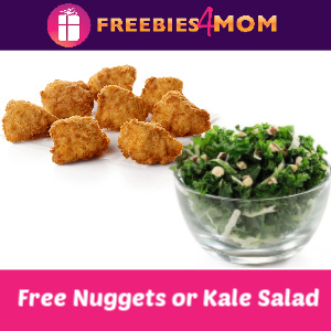 Free Nuggets or Kale Crunch Side at Chick-fil-A