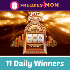 Sweeps Culver's Colby Jackpot