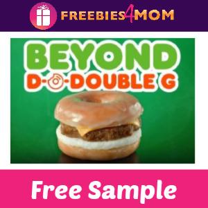 Free Beyond Sausage Sandwich Sample at Dunkin'