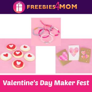 Valentine's Day Maker Fest at Michaels 2/8