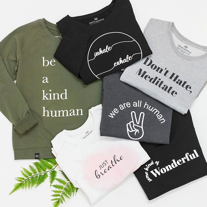 Mindful Graphic Sweatshirts $22.95 ($39.95 Value)