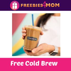 Free Cold Brew at Cinnabon 2/17