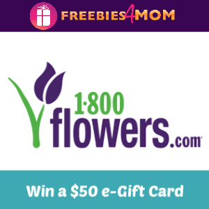 Win a $50 1-800-Flowers E-Gift Card