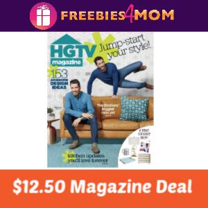 🎨HGTV Magazine $12.50