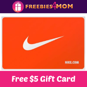 Free $5 Nike Gift Card (Verizon Customers)