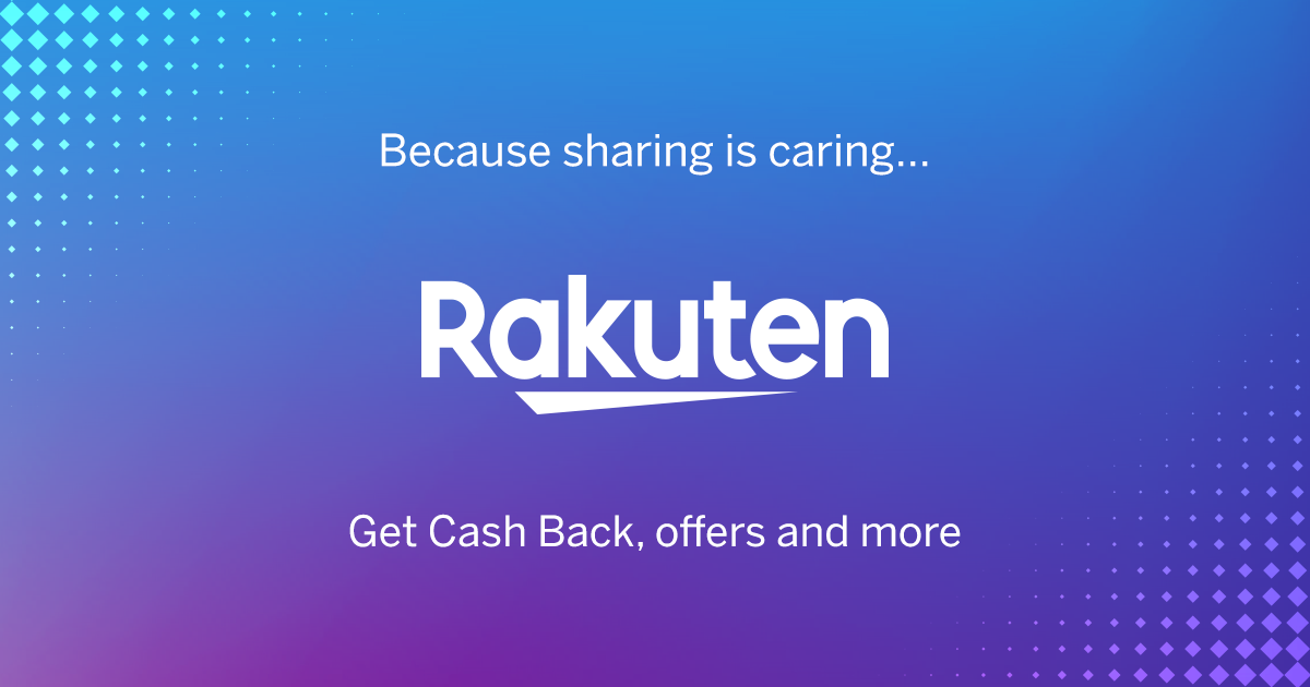 Get $40 Cash Back with $40 Purchase from Rakuten