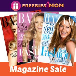 💄Bazaar Magazine $4.95