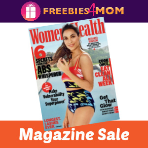 🧘‍♀️Women's Health Magazine $4.95