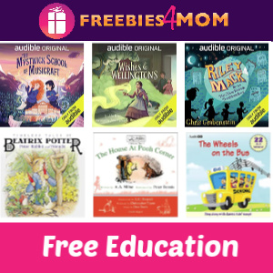 🍎Free Audible for Kids & Teens (no membership required)