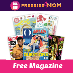 Free Magazine of your choice ($10 value)