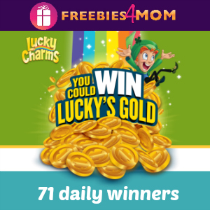 Sweeps Lucky Charms Win Lucky's Gold Instant Win