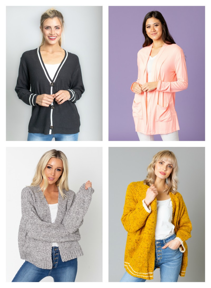 🌈Cardigans & Outerwear (50% off) starting at $10