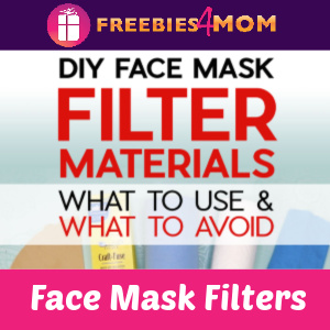 ✂️Filter Materials to use in DIY Face Masks