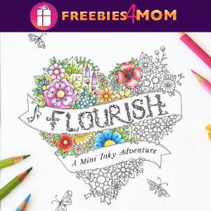 🌷Free Printable Adult Coloring: Flourish by Johanna Basford