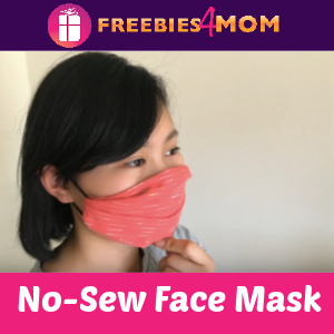 ✂️How to make a No-Sew Face Mask
