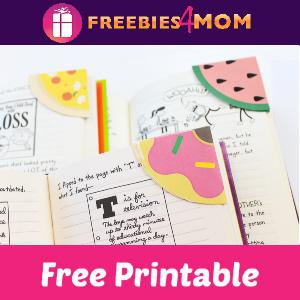🍕Free Printable Corner Bookmarks
