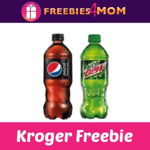 🥤 Free Pepsi or Mtn Dew at Kroger