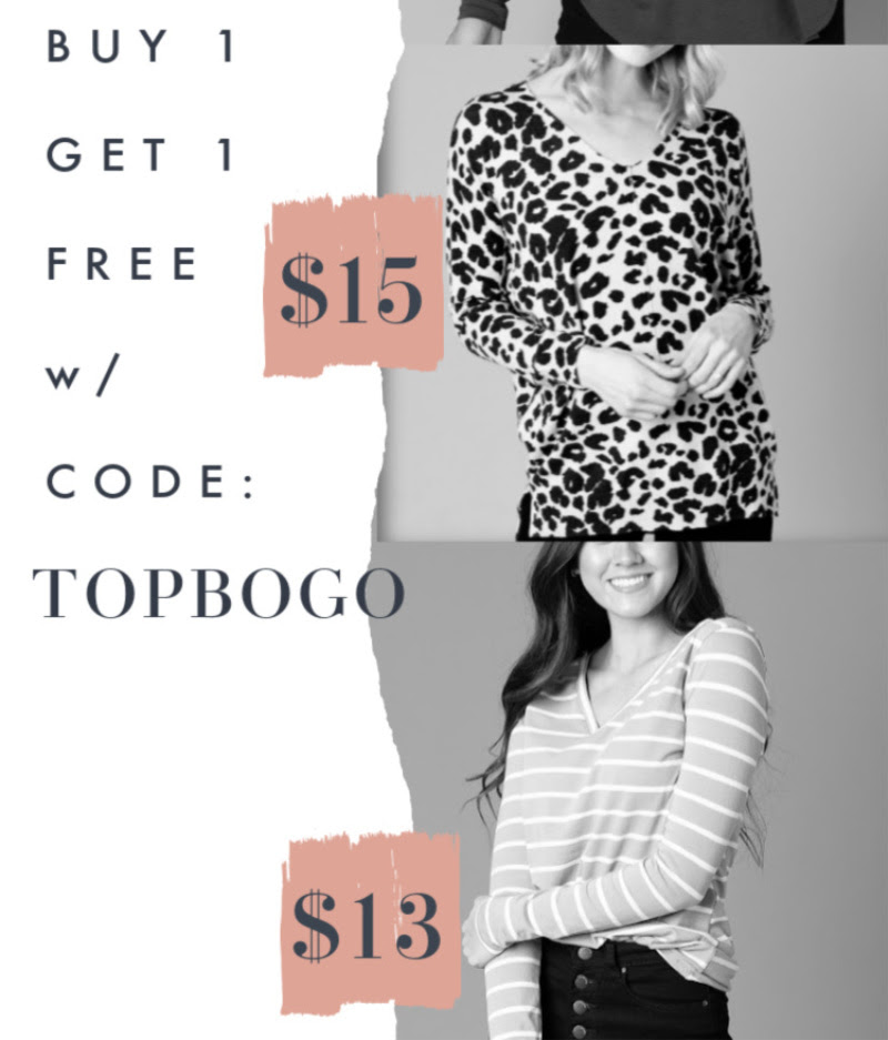 👚Tops BOGO (prices start at 2 for $18) with Free Shipping