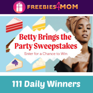 Sweeps #BettyBringsTheParty