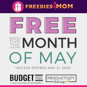 💰Free Budget & Productivity Boot Camp
