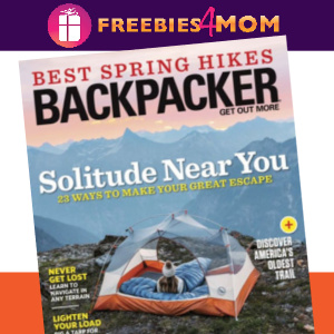 ⛺️Backpacker Magazine $4.99