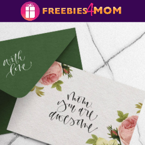 "💐Free Mother's Day Card ""Mom You Are Awesome"" from Saffron Avenue"
