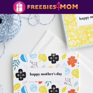 💐Free Mother's Day Cards with Scandinavian patterns from Alice and Lois