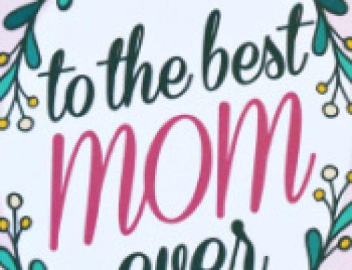 💐Free Printable Best Mom Ever Card