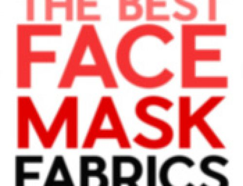 ✂️DIY Face Masks: Fabrics & Filters