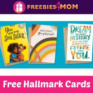🌈Free 3 Hallmark Mahogany Cards