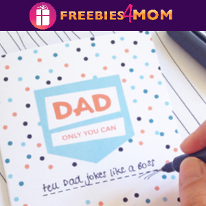 ⚓️Free Fill-in-the-blank Father's Day