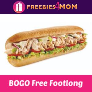 🥖 BOGO Free Subway (In-App or Online)