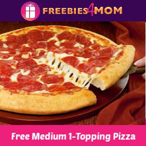 🍕Free Medium 1-Topping Pizza at Pizza Hut