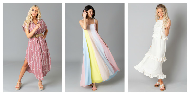 👗40% off Summer Maxi Dresses (prices start at $7.20)