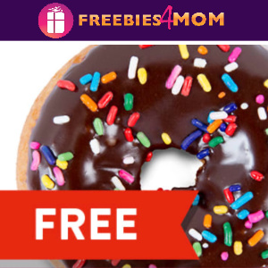 🍩Free Doughnut at Casey's Today