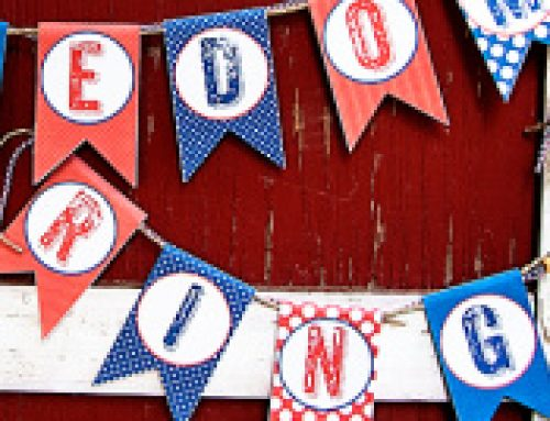 ⭐️Free Printable 4th of July Banner