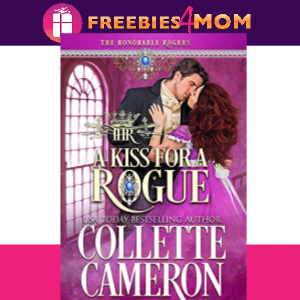 👑Free eBook: A Kiss for a Rogue ($1.99 value)