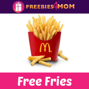 🍟Free Fries on Friday at McDonald's