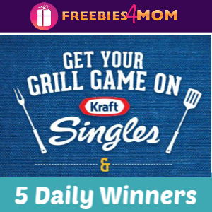 🔥Sweeps Kraft Singles Ultimate Grill Giveaway